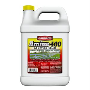 Amine 400 2, 4-D Weed Killer, 1 Gallon
