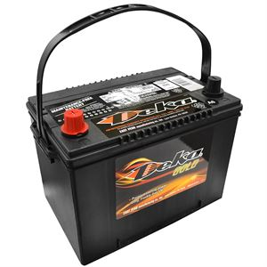 Deka Wet Charge Auto Battery 12 Volt, 690 CCA