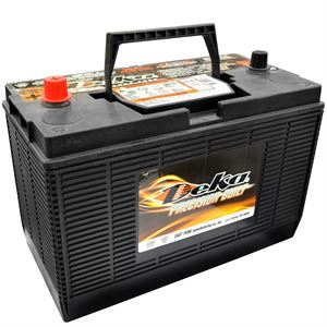 Truck and Tractor 12 Volt Battery, 650 CCA