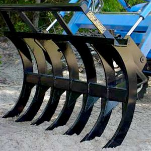 Clean Up Rake For Med Large Tractor