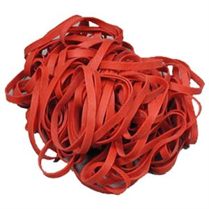Red Collard Rubber Bands Bag