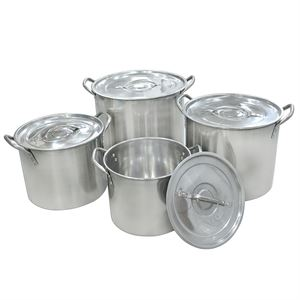 Carolina Cooker® Stainless Steel Pot Set, 8 Pc.