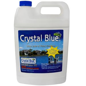 Crystal Blue Blue Lake And Pond Colorant, 1 Gallon