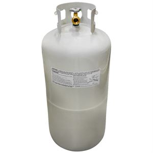 LP Gas Cylinder, 40Lb. Propane Tank with OPD Valve