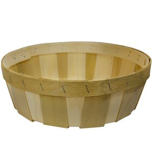 10 Round Tray Natural without Handle