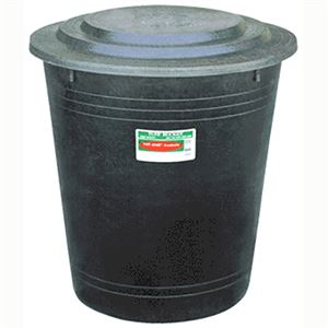 Heavy Duty Drum with Lid, 37 Gallon