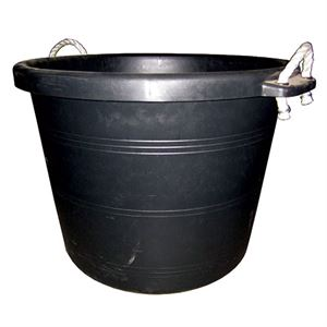 Tuff Stuff Black Muck Bucket, 17-1/2 Gallon