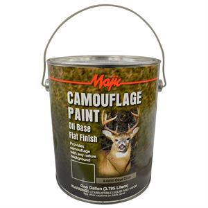 Olive Drab Camouflage Paint, 1 Gallon