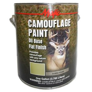 Khaki Camouflage Paint, 1 Gallon