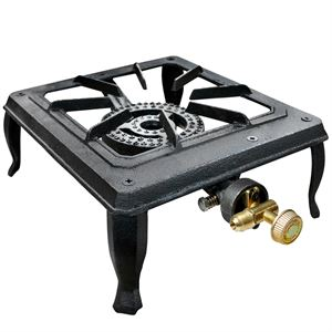 Carolina Cooker Single Burner, Cast Iron Stove, 15,650 BTUs