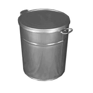 Tin Lard Can, 6-1/2 Gallon