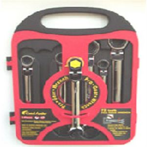 Flexible Gear Wrench Set- SAE, 7 Piece