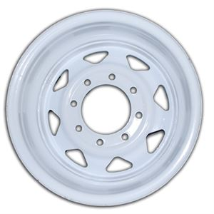 16 x 6 in. Trailer Tire- White