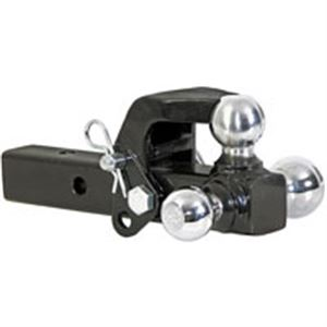 Tri-Ball Hitch, Pintle Hook Included