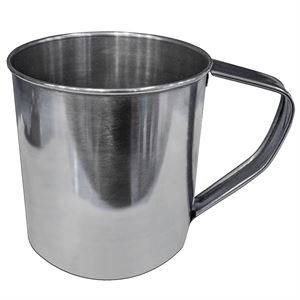 Stainless Steel Mug, 22 Oz. Capacity