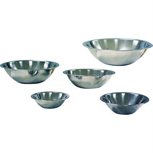 Stainless Steel Mixing Bowl Set, 5 Bowls