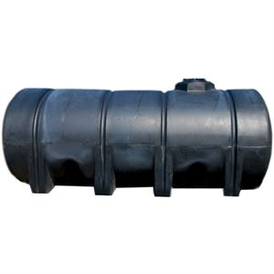 1635 Gallon Elliptical Black Leg Tank
