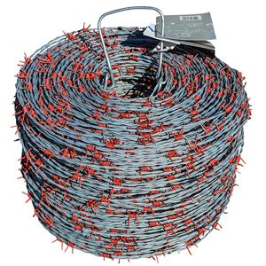 15 1/2 GA 4 PT RED BRAND BARB WIRE 132