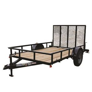 6 Ft. x 10 Ft. Utility Trailer, Single Axle, 2,900 Lb. Payload