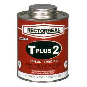 Rectorseal T Plus 2 Pipe Thread Sealant, 8 oz.