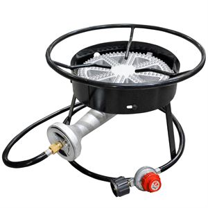 Carolina Cooker Banjo Burner and Stand, 100 Qt. Capacity