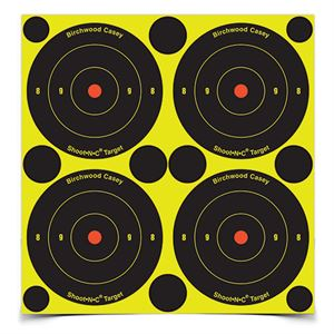 3 In. Bulls-Eye Target, 12 Sheets