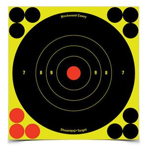 6 In. Bulls-Eye Target, 12 Sheets