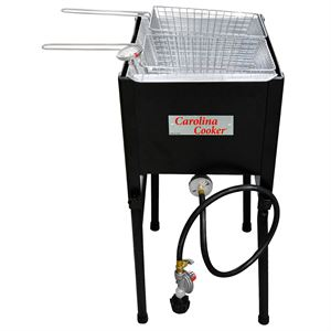 Carolina Cooker® Fryer, 1 Burner, 2 Baskets