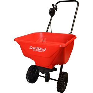 EarthWay Push Broadcast Spreader, 65 Lb. Capacity