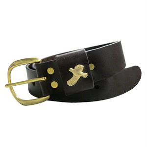 Quail Leather Belt, 42 In.
