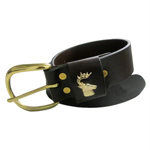 Buck Head Leather Belt, 40 In.