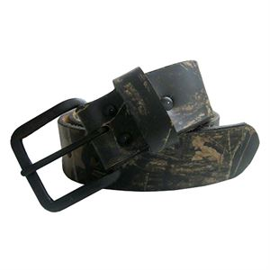 Mossy Oak® Camo Leather Belt, 44 In.