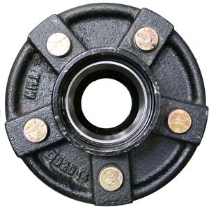 Trailer Hub Assembly, 5 Stud, 4-1/2 In. Bolt Pattern