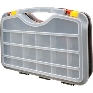 Plastic Double Sided Organizer Case