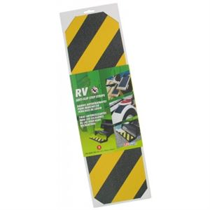 Yellow Blk Anti Slip Adhesive Grit Strips