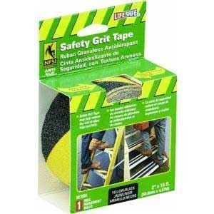 Yellow Black Anti Slip Grit Tape
