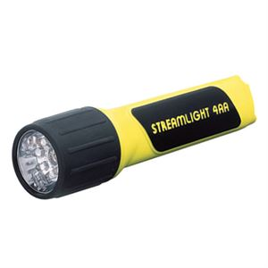 4AA Led Waterproof Flashlight Yellow