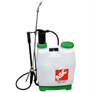 Backpack Sprayer, Piston Pump, 4.2 Gallon Capacity