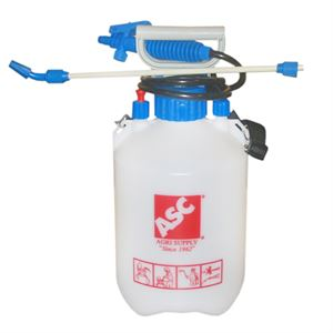 Hand Held Sprayer, Piston Pump, 1.3 Gallon Capacity