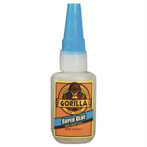 Gorilla Super Glue Impact Tough Formula Bottle