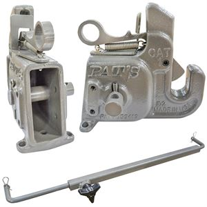 Pats 3-Point Quick Hitch, Category 1, Stabilizer Bar Included