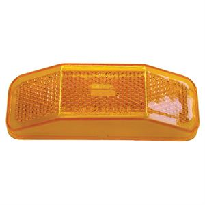 Replacement Clearance Light Lens, Amber