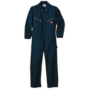 Dn Non Insulated Coverall Large Reg Navy