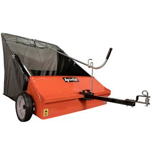 Lawn Sweeper, 44 In., 25 Cu. Ft. Hopper