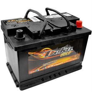 Wet Charge Auto Battery, 12 Volt, 680 CCA