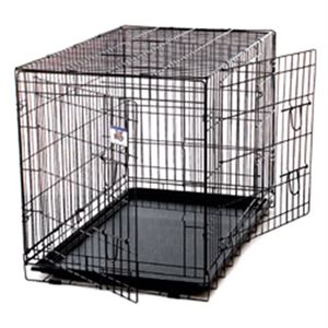 Double Door Dog Crate, Extra Large