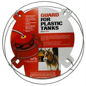 Stock Tank Warmer Guard, Galvanized