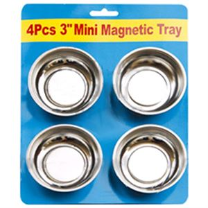 Mini Magnetic Parts Trays, Set of 4