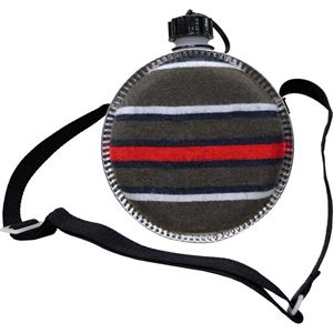 Desert Canteen with Adjustable Strap, 2 Qt.