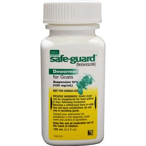 Safe Guard 10 Fenbendazole Goat Wormer Agri Supply 73115